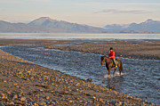 Homeward Bound Prints - Homeward Bound on Homer Spit by Kachemak Bay-AK Print by Ruth Hager