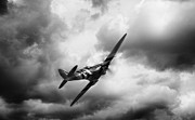 Dogfight Prints - Homeward Bound Print by Peter Chilelli