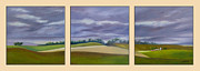 Homeward Bound Prints - Homeward Bound - triptych Print by Jo Appleby