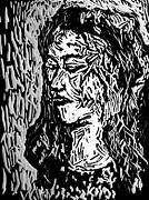 Homoface #11 Print by Alfredo Gonzalez