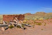Homolovi Ruins State Park Arizona Print by Christine Till