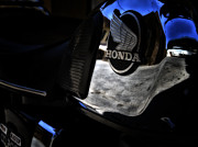 Brake Metal Prints - Honda CD200 Road Master Metal Print by Stylianos Kleanthous