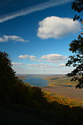 Finger Lakes Photo Originals - Honeoye Lake view by Steve Clough