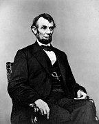 Courage Metal Prints - Honest Abe Metal Print by Benjamin Yeager