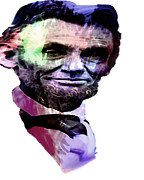 Abraham Lincoln Art - Honest Abe by Lisa McKinney