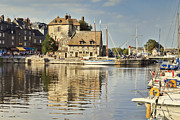 France Posters - Honfleur Poster by Colin and Linda McKie