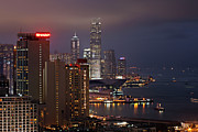 Hong Kong Metal Prints - Hong Kong Metal Print by Lars Ruecker