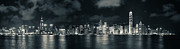Tst Photo Framed Prints - Hong Kong Skyline 11 Framed Print by Hans Van Kerckhoven