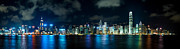 Tst Photo Framed Prints - Hong Kong Skyline 4 Framed Print by Hans Van Kerckhoven