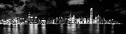Tst Photo Prints - Hong Kong Skyline 8 Print by Hans Van Kerckhoven