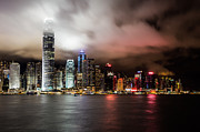 Ifc Prints - Hong Kong skyline Print by Asiandreamphoto