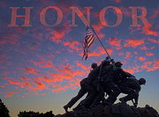 Marine Corps Photos - Honor by JC Findley