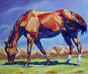 Canyon Paintings - Hoodoo Horse by Derrick Higgins