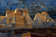 Unusual Landscape Posters - Hoodoo Magic Bisti/De-Na-Zin Wilderness Poster by Bob Christopher