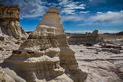 Bad Lands Prints - Hoodoo Rock Formations Print by Ron Pate