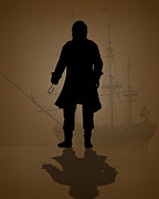 Pirate Ship Photo Posters - Hook Poster by Bob Orsillo
