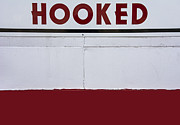 Km Corcoran Posters - Hooked on Red Poster by KM Corcoran