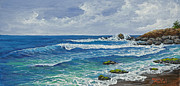 Cloudy Paintings - Hookipa by Darice Machel McGuire