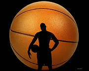 Michael Jordan Photos - Hoop Dreams by Cheryl Young