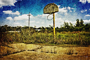 Canon 7d Prints - Hoop Dreams Print by Scott Pellegrin