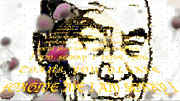 Teachings Digital Art Prints - HoOponopono Prayer Dali Lama Print by Deprise Brescia