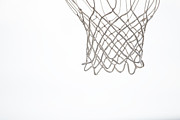 Basketball Team Art - Hoops by Karol  Livote