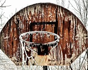 Backboard Prints - Hoosier Winter Print by Benjamin Yeager