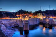 Hoover Dam Prints - Hoover Dam Print by Eddie Yerkish
