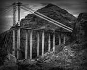 Hoover Prints - Hoover Dam Print by Ian Barber