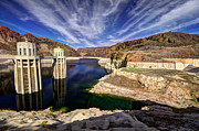 Hoover Dam Prints - Hoover Reservoir  Print by Rob Hawkins