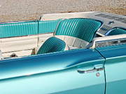T Bucket Prints - Hop Into the T-Bird Convertible Print by Matthew Bamberg