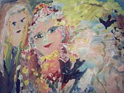 Spell Paintings - Hope and the white witch by Judith Desrosiers