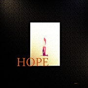 Hall Mixed Media Prints - Hope  Print by Andrew Penman