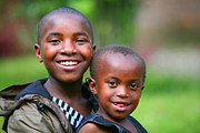 Rwanda Prints - Hope For The Future Print by Bruce J Robinson