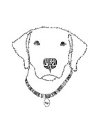 Animal Shelter Drawings - Hope is More Than Words by Bethany Martin