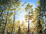 Forest Pastels - Hope by Mary Giacomini