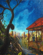 Night Out Paintings - Hope by Matt Konar
