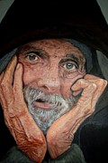 Homeless Painting Posters - Hopelessness Poster by Shirl Theis