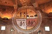 Ancient Indian Art Metal Prints - Hopi Art Metal Print by Adam Jewell