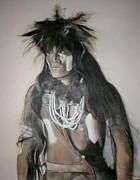 Hopi Snake Priest Print by Terri Ana Stokes