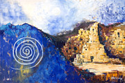 Anasazi Prints - Hopi Spirit Print by Jerry McElroy