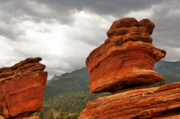 Beautiful Landscape Prints - Hoping for Rain - Garden of the Gods Colorado Print by Christine Till