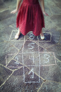 Legs Photos - Hopscotch by Joana Kruse