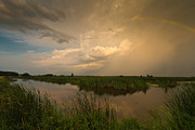Creek Art - Horicon Marsh Storm by Steve Gadomski
