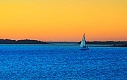 Sail Boat Photos - Horizon  by Diosdado Molina