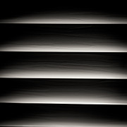 Black Art Art - Horizontal Blinds by Darryl Dalton