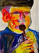 Player Originals - Horn Player by Troy Thomas