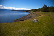 Hornby Island Photos - Hornby Seascape by Graham Foulkes