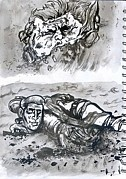 George Bush Originals - Horrific Deaths in Iraq by Mike Miller