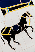 Asian Ceramics Posters - Horse-01 Poster by Haris Sheikh